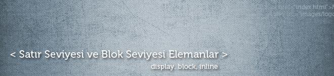 Satır-ve-Blok-Seviyesi-Elemanlar